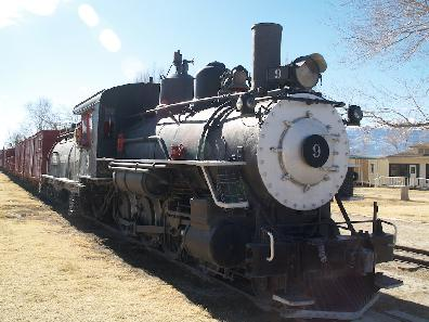SP narrow gauge engine #9