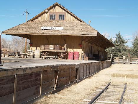 Laws Railroad Depot